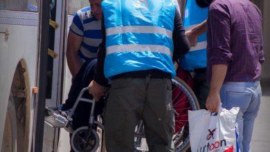 Photo of جانب من أعمال قسم الشرطة في تأمين وتسهيل أمور المسافرين القادمين في إجازة عيد الفطر.