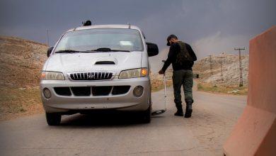 Photo of جانب من الأعمال اليومية لقسم الحراسات التابع لقيادة شرطة معبر باب الهوى