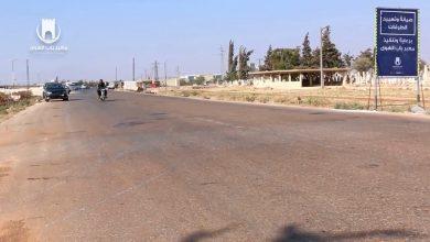 "Photo of معبر باب الهوى ينهي عمليات إصلاح و تعبيد أوتستراد ""إدلب – باب الهوى""."