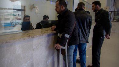 Photo of جانب من حركة المسافرين وقسم الهجرة والجوازات في معبر باب الهوى