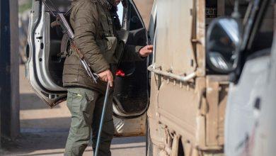 Photo of جانب من عمل أقسام الشرطة في معبر باب الهوى