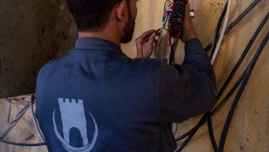 Photo of جانب من عمل ورشات قسم الإشراف الفني في معبر باب الهوى