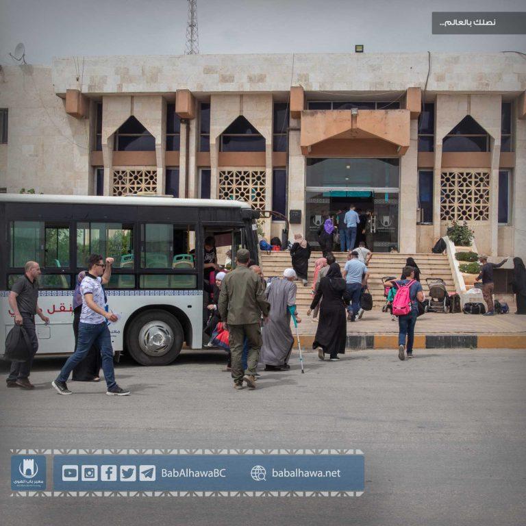 Photo of جانب من استمرار توافد أهلنا المقيمين في تركيا لقضاء إجازة عيد الفطر في سورية .