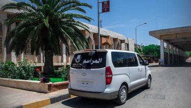 Photo of جانب من حركة المسافرين في معبر باب الهوى