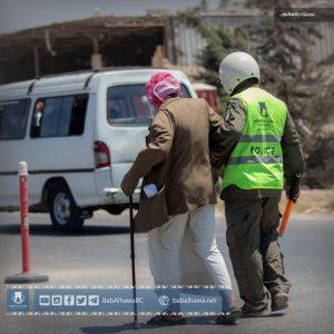 Traffic policeman babalhawa syria