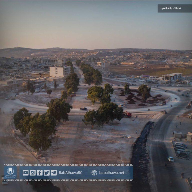 Photo of قسم الإشراف الفني يبدأ أعمال المرحلة الثانية من مشروع توسعة وصيانة عقدة مواصلات سرمدا – باب الهوى.