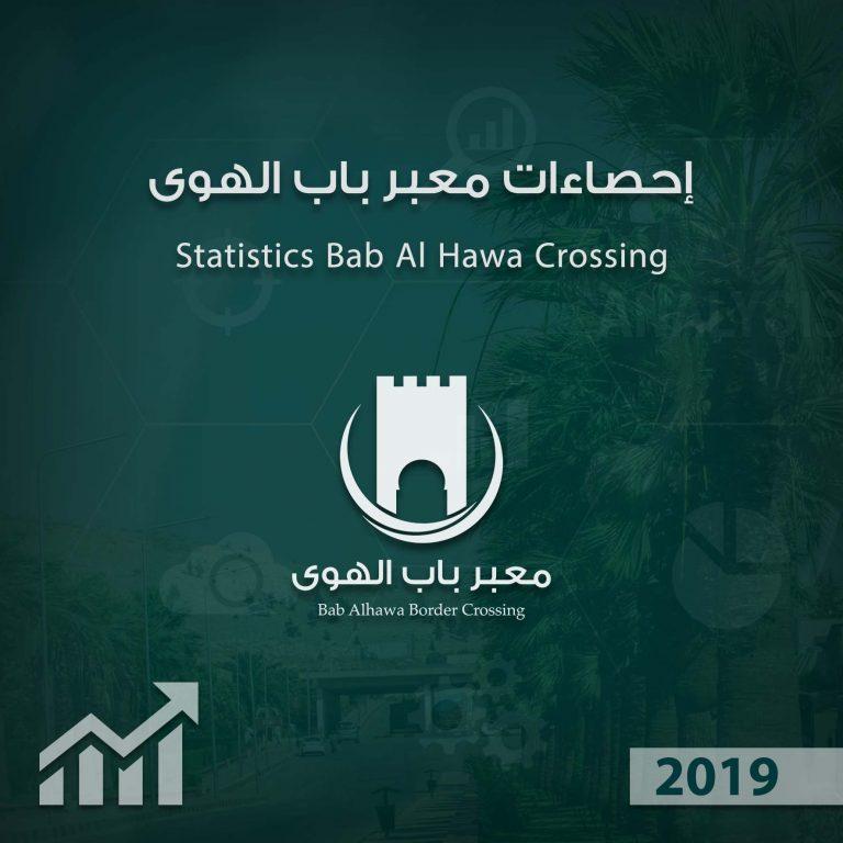 Photo of إنفوغرافيك يوضح إحصاءات عمل معبر باب الهوى خلال عام 2019