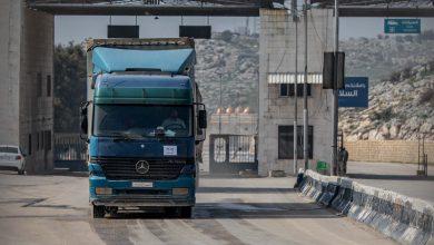 Photo of جانب من الحركة اليومية في معبر باب الهوى